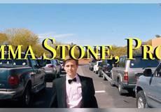 Школьник позвал Эмму Стоун на выпускной, спародировав «Ла Ла Лэнд»