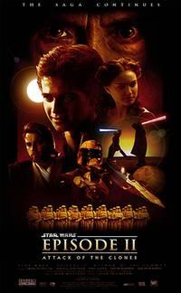 Постер Звездные войны: Эпизод 2 – Атака клонов