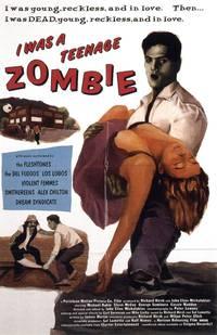 Постер Я был зомби-тинейджером
