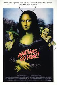 Постер Марсиане, убирайтесь домой