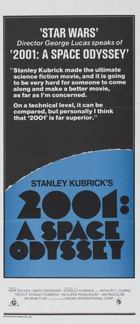 Постер 2001 год: Космическая одиссея