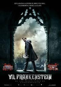 Постер Я, Франкенштейн
