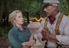 Дуэйн Джонсон и Эмили Блант зазывают в «Круиз по джунглям»