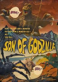 Постер Сын Годзиллы