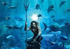 Аквамен среди акул: новый постер дисишного блокбастера