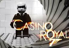 Появилась Lego-версия пролога ленты «Казино Рояль»