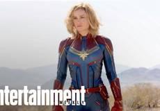 Первое фото: Бри Ларсон в роли Капитана Марвел