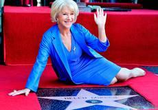 На Аллее славы в Голливуде засверкала звезда Хелен Миррен