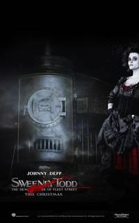Постер Суини Тодд, демон-парикмахер с Флит-стрит