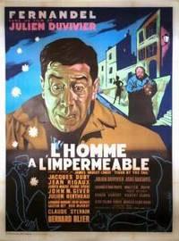 Постер Человек в непромокаемом плаще