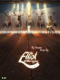 Постер Эллиот – самый маленький олень Санты