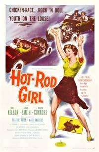 Постер Hot Rod Girl