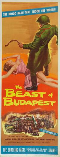 Постер Зверь в Будапеште