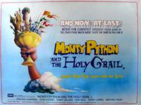 Постер Монти Пайтон и священный Грааль