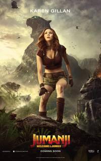 Постер Джуманджи: Зов джунглей