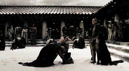 "Кадр из фильма ""300 спартанцев"" - 2"