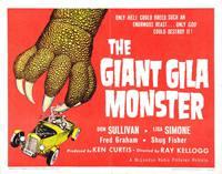 Постер Гигантский монстр Джила