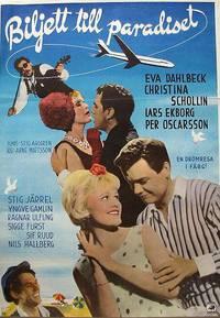 Постер Biljett till paradiset