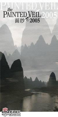 Постер Разрисованная вуаль