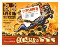 Постер Годзилла против Мотры
