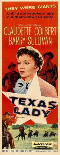 Постер Дама Техаса