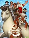 """Постер из фильма """"Эллиот – самый маленький олень Санты"""" - 1"""