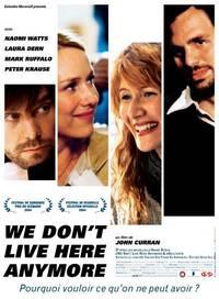 Постер Мы здесь больше не живем