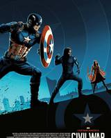 """Постер из фильма """"Первый мститель: Противостояние"""" - 7"""