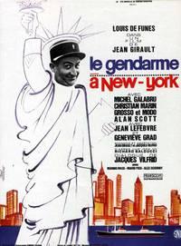 Постер Жандарм в Нью-Йорке