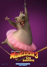 Постер Мадагаскар3