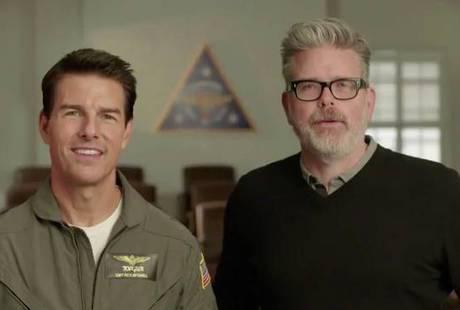Том Круз выложил первое видео со съемок «Лучшего стрелка 2»