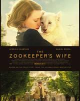 """Постер из фильма """"Жена смотрителя зоопарка"""" - 3"""
