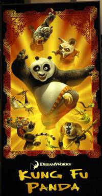 Постер Кунг-фу Панда