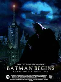 Постер Бэтмен: Начало