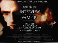 Постер Интервью с вампиром
