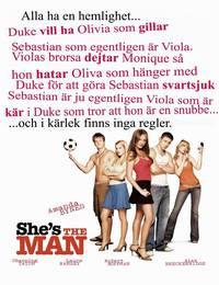Постер Она – мужчина