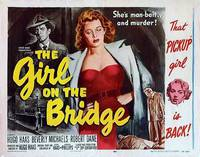 Постер The Girl on the Bridge
