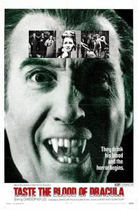 Постер Вкус крови Дракулы