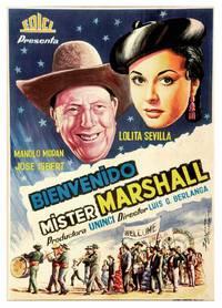 Постер Добро пожаловать, мистер Маршалл