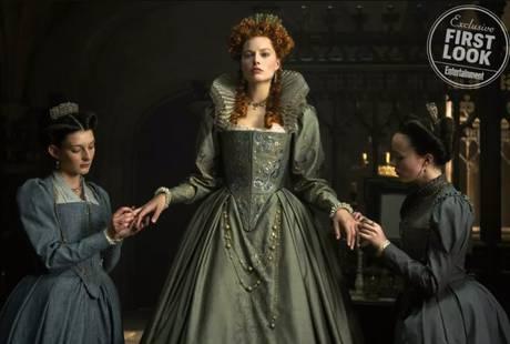 Первое фото: Марго Робби в фильме «Мария – королева Шотландии»