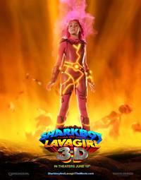 Постер Приключения Шаркбоя и Лавы