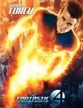 """Постер из фильма """"Фантастическая четверка 2: Вторжение Серебряного серфера"""" - 1"""
