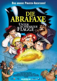 Постер Абрафакс под пиратским флагом