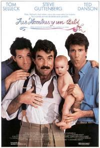 Постер Трое мужчин и младенец