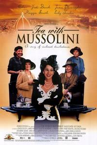 Постер Чай с Муссолини