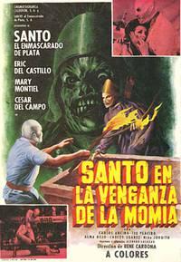 Постер Санто и месть мумии