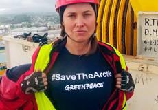 Королеву воинов Зену арестовали за помощь Greenpeace