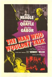 Постер Человек, который не мог говорить