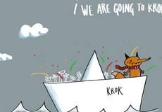 Анимационный фестиваль «Крок» пошел по реке