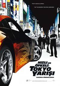 Постер Тройной форсаж: Токийский Дрифт